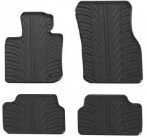 Коврики в салон для Mini Cooper F55 с 2015, 5 дв. резиновые, черные (GledRing)