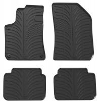Коврики в салон для Peugeot 308 с 2014, универсал, резиновые, черные (GledRing)
