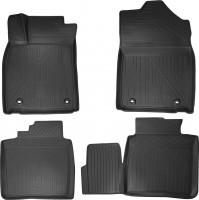 Коврики в салон 3D для Lexus ES с '12- полиуретановые, черные (Novline / Element)