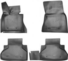 Коврики в салон для BMW X5 F15/X6 F16  с 2014 полиуретановые (Nor-Plast) черные 3D