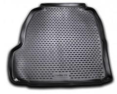 Коврик в багажник для Cadillac CTS II с 2007 седан, полиуретановый (Novline / Element) черный
