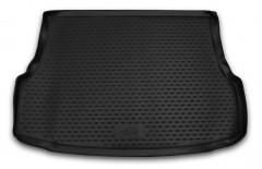 Коврик в багажник для Geely Emgrand X7 с 2013, полиуретановый (Novline / Element) черный