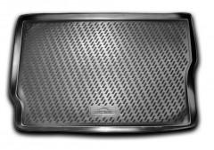 Коврик в багажник для Opel Meriva 2003 - 2009 полиуретановый (Novline / Element) черный