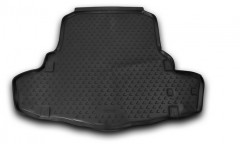 Коврик в багажник для Lexus RC с 2014 полиуретановый (Novline / Element) черный