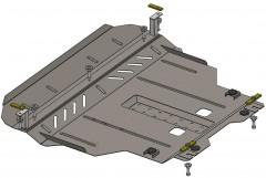 Кольчуга Защита двигателя и КПП для Chery Tiggo 2 '16-, V-1,5i, АКПП, МКПП (Кольчуга)