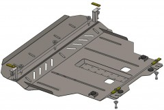 Защита двигателя Chery Tiggo 2 c 2016, 1.5i; АКПП, МКПП (Кольчуга)
