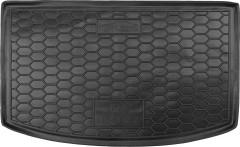 Коврик в багажник для Kia Rio с 2017 хэтчбек, верхний, резиновый (AVTO-Gumm)