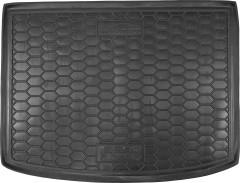 Коврик в багажник для Seat Altea 2004 - 2015 верхний, резиновый (AVTO-Gumm)