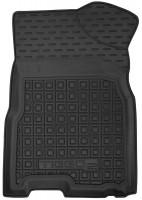Фото 3 - Коврики в салон для Chery Tiggo 2 c 2016 резиновые, черные (AVTO-Gumm)