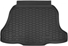 Коврик в багажник для Chery Tiggo 2 c 2016 резиновый (AVTO-Gumm)