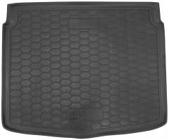 Коврик в багажник для Seat Altea 2004 - 2015 нижний, резиновый (AVTO-Gumm)