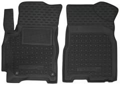 Коврики в салон передние для Chery Tiggo 2 c 2016 резиновые, черные (AVTO-Gumm)