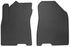 Коврики в салон передние для Kia Niro c 2017 резиновые, черные (Stingray)