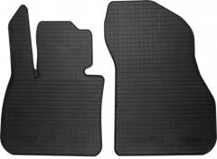 Коврики в салон передние для BMW X1 F48 c 2015 резиновые, черные (Stingray)