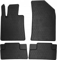 Коврики в салон для Peugeot 508 c 2011 резиновые, черные (Stingray)