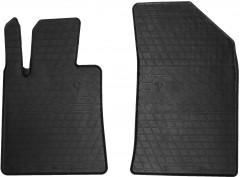 Коврики в салон передние для Peugeot 508 c 2011 резиновые, черные (Stingray)