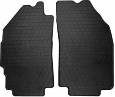 Коврики в салон передние для Chevrolet Spark с 2011 резиновые, черные (Stingray)
