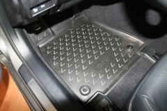 Фото 2 - Коврики в салон 3D для Lexus RC с 2014 полиуретановые, черные (Novline / Element)