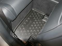 Фото 4 - Коврики в салон 3D для Lexus RC с 2014 полиуретановые, черные (Novline / Element)