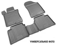 Коврики в салон для Citroen C4 Grand Picasso с 2013 полиуретановые, черные (Novline)