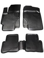 Коврики в салон для Hyundai Accent '06-10 полиуретановые (L.Locker)