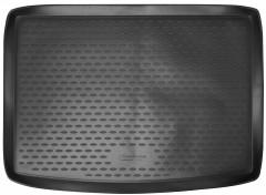 Коврик в багажник для Volkswagen Golf Plus VI 2009 - 2014, полиуретановый (Novline / Element) черный
