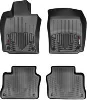 Фото 1 - Коврики в салон для Porsche Panamera 2010 - 2016 черные, резиновые 3D (WeatherTech)