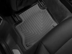 Фото 3 - Коврики в салон для Porsche Panamera 2010 - 2016 черные, резиновые 3D (WeatherTech)