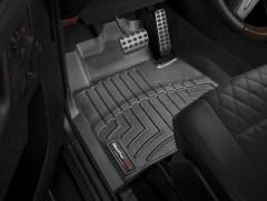 Фото 2 - Коврики в салон для Mercedes G-Class W463 с 2002 черные, резиновые 3D (WeatherTech)
