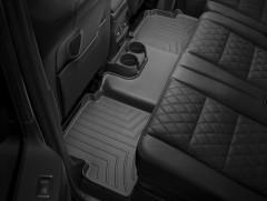 Фото 3 - Коврики в салон для Mercedes G-Class W463 с 2002 черные, резиновые 3D (WeatherTech)