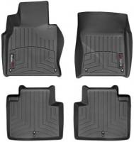 Коврики в салон для Infiniti M (Q70) '11 черные, резиновые 3D (WeatherTech)