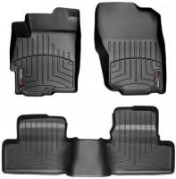 Коврики в салон для Land Rover Range Rover Evoque с 2011 черные, резиновые 3D (WeatherTech)