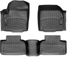 Коврики в салон для Land Rover Range Rover Evoque с 2014 черные, резиновые 3D (WeatherTech)