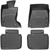 Коврики в салон для Lexus GS с 2012 AWD черные, резиновые 3D (WeatherTech)