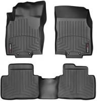 Коврики в салон для Nissan X-Trail (T32) с 2014 черные, резиновые 3D (WeatherTech)