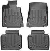 Коврики в салон для Lexus GS с 2012 RWD черные, резиновые 3D (WeatherTech)