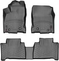 Коврики в салон для Lexus NX с 2014 черные, резиновые 3D (WeatherTech)
