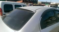 Спойлер заднего стекла для Chevrolet Aveo T250 2006-2011 под покраску (AutoPlast)