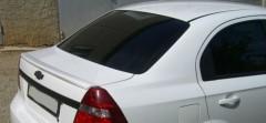 Спойлер багажника для Chevrolet Aveo T250 2006-2011 под покраску (AutoPlast)
