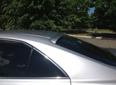 Спойлер заднего стекла для Toyota Camry V40 2006-2011 под покраску (AutoPlast)