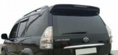 Спойлер для Toyota Prado 120 2003-2009 черный, окрашенный (AVTM)