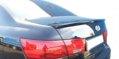 Спойлер багажника для Hyundai Sonata 2005-2010 под покраску (AutoPlast)