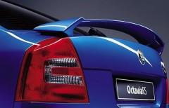 Спойлер багажника для Skoda Octavia A5 RS 2005-2013 под покраску (AVTM)
