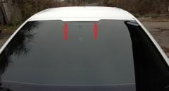 Спойлер лобового стекла для Skoda Octavia A5 2005-2013 под покраску (AutoPlast)