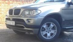 Спойлер переднего бампера для BMW X5 E53 2004-2007 под покраску (Украина)