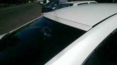 Спойлер заднего стекла для Mazda 6 с 2013 под покраску (AutoPlast)
