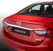 Спойлер багажника для Mazda 6 с 2013 под покраску (AutoPlast)