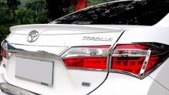 Спойлер багажника для Toyota Corolla с 2013 под покраску (AVTM)