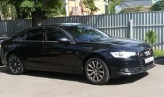 Дефлекторы окон для Audi A6 с 2011, седан (Cobra)
