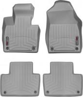 Коврики в салон для Volvo XC 90 с 2015 Hybrid серые, резиновые 3D (WeatherTech)